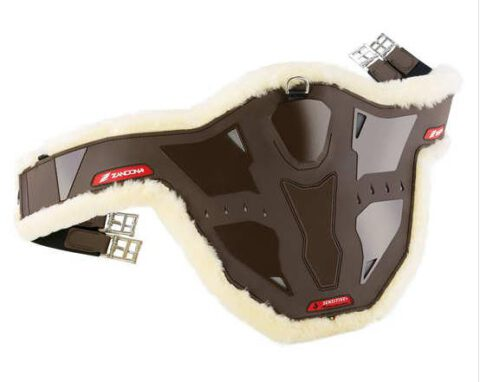 Zandona Carbon Air Stollenschutzgurt Lammfell braun