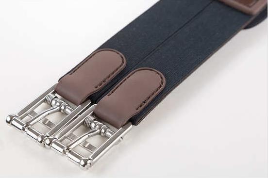 Zandona Carbon Air Stollenschutzgurt braun Schnalle